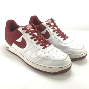 Nike Air Force One Low Top Athletic Shoes